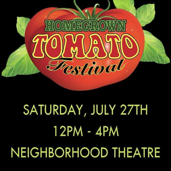 3rd Annual Homegrown Tomato Festival