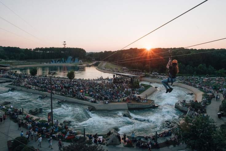 U.S. National Whitewater Center's Labor Day celebration