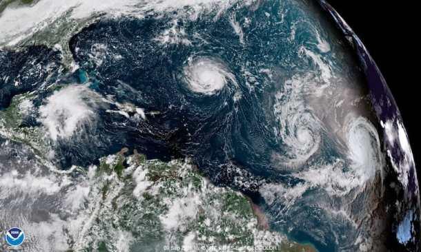 noaa satellite hurricane