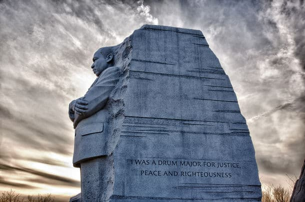 Washington Dc February 13 Monument To Dr Martin Luther King On February 13 2012 Government Agreed On Feb 12 To Change The Drum Major Words On T