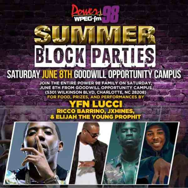 Free: Power 98 summer Block Party with performance by YFN