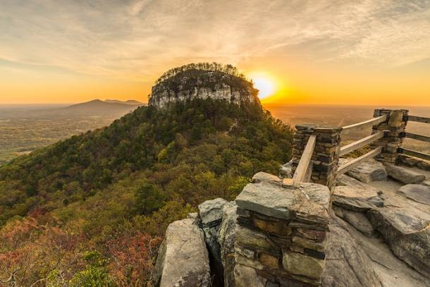 peak of pilot mountain state park
