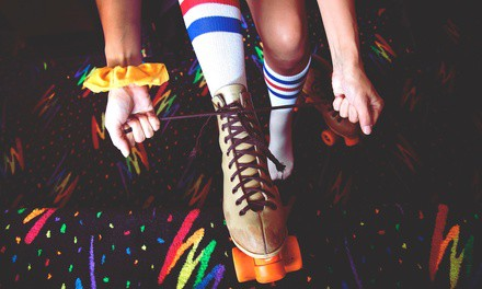Roller Skating at Kate's Skating Center (Up to 51% Off). Three Options Available.