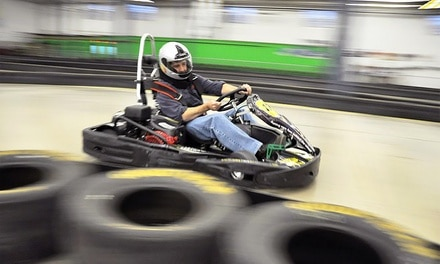 $16.99 for One Go-Kart Race and a One-Year Membership at The Pit ($35 Value)