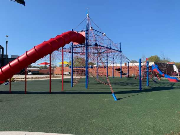 Playground at Atrium Health Ballpark in Kannapolis