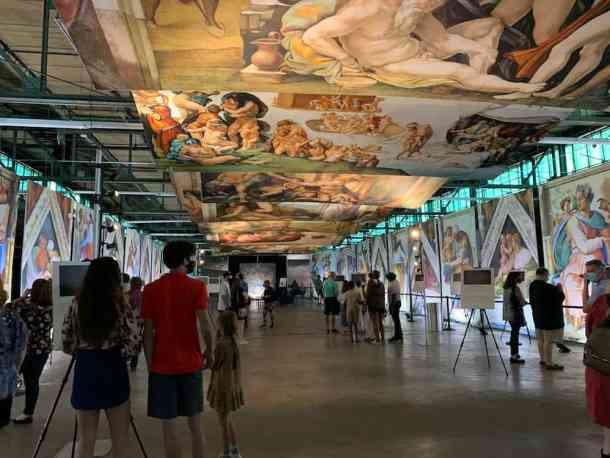 Sistine Chapel Exhibition in Charlotte