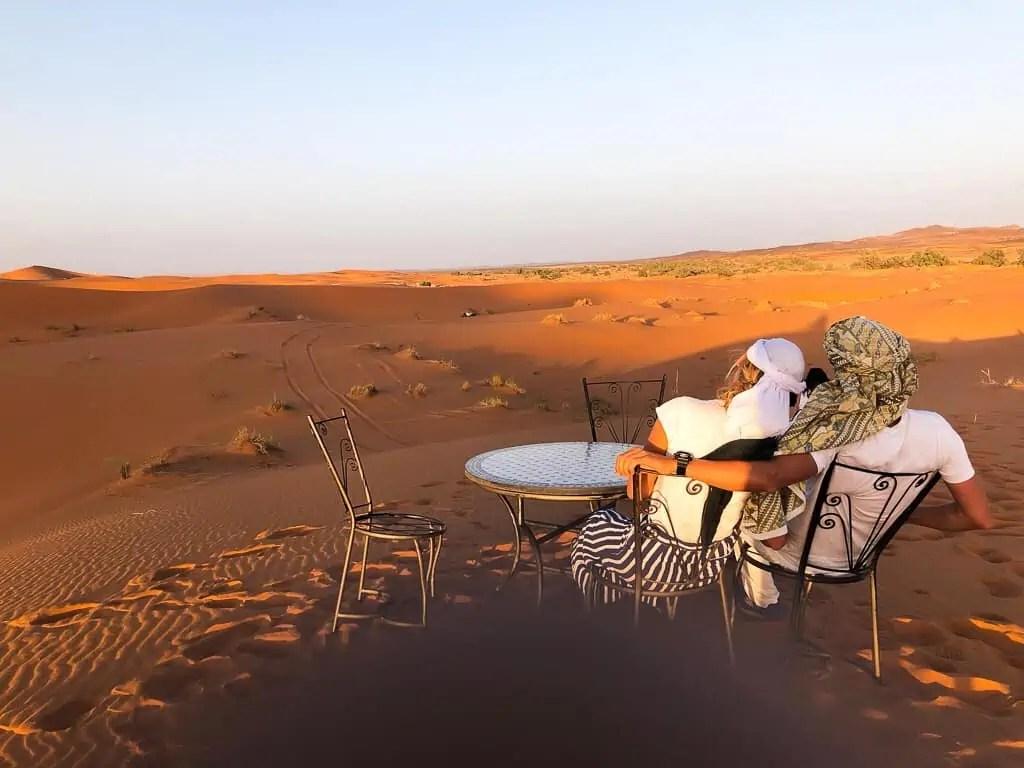 Maroc Merzouga Desert Cameltrip Picnic