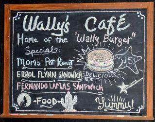 """Wally's Café """"specials."""""""