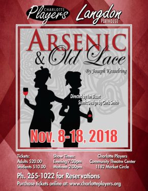 Arsenic & Old Lace Poster
