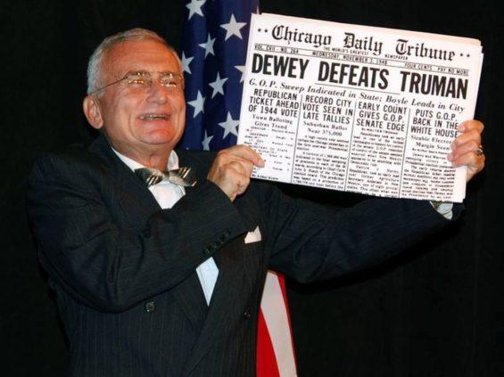 Dewey defeats Truman-Jack Rabito