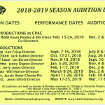 Audition Dates