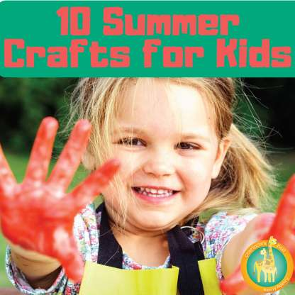 10 Summer Crafts for Kids