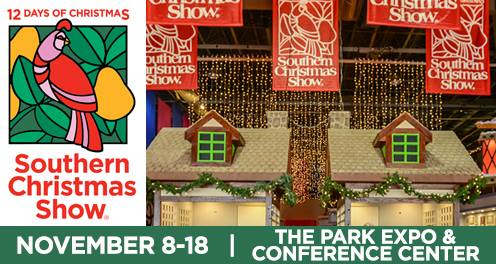 lets go to the southern christmas show it is that time again time for the annual southern christmas show at the park expo in charlotte nc