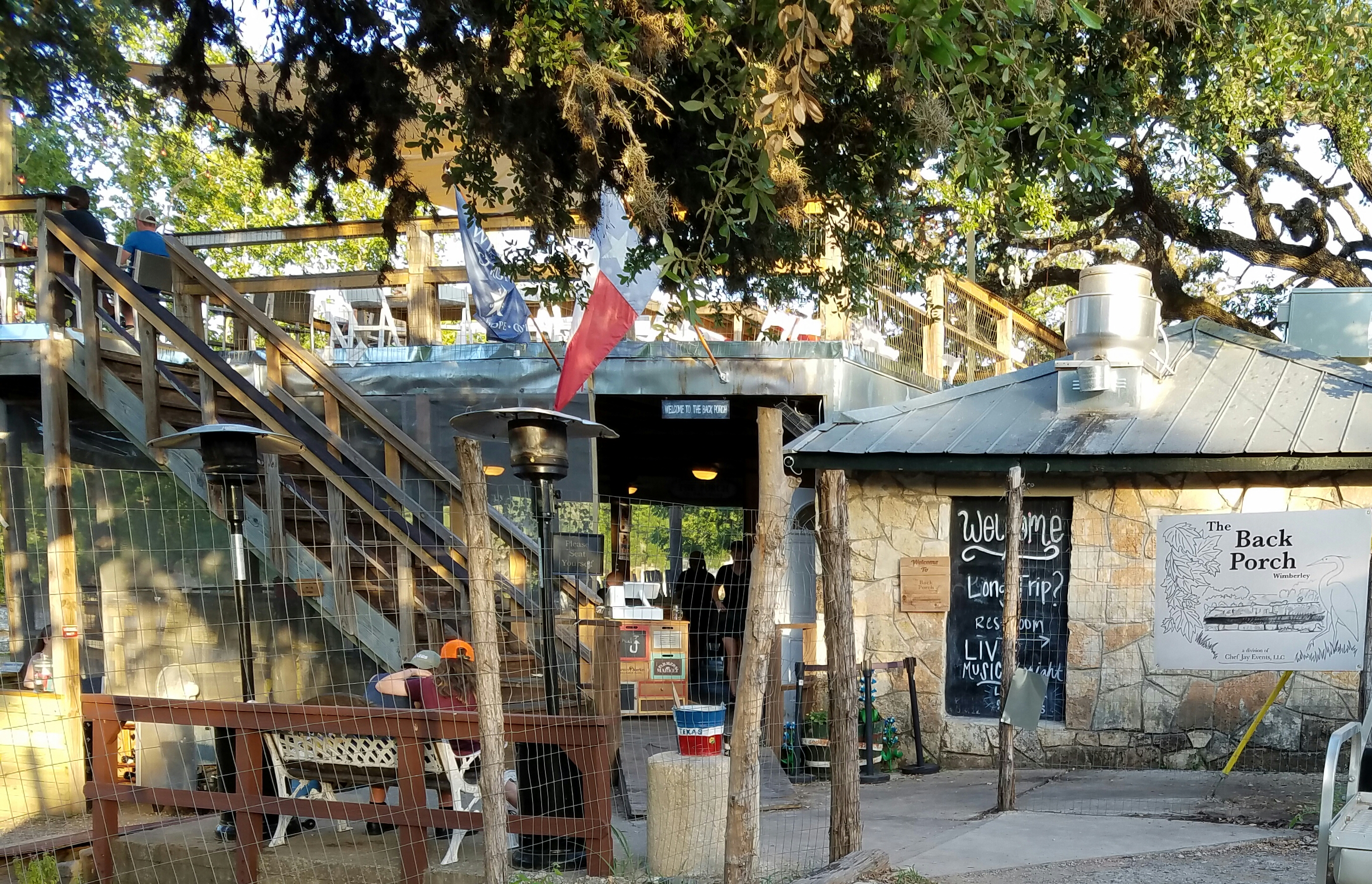 Wimberley – The Back Porch Restaurant