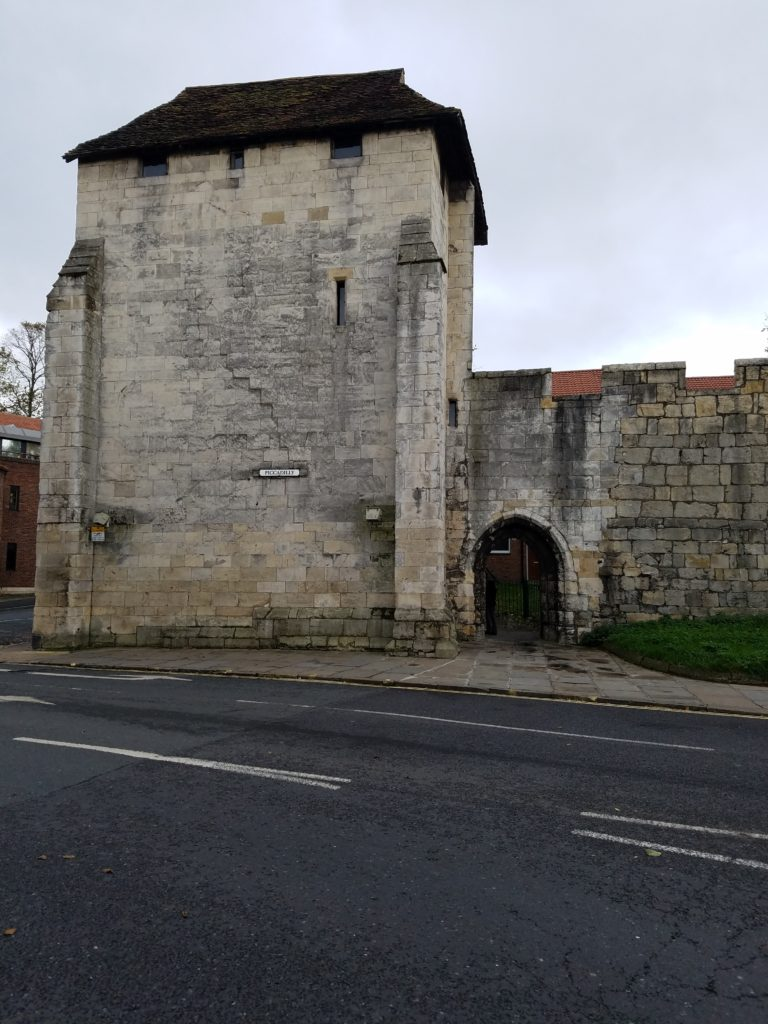 York City Walls, York, England