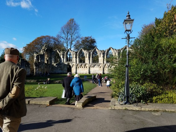 Ruins of St. Mary's Abbey, York, England