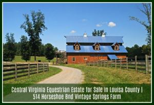 Real Estate Properties for Sale in Louisa County VA