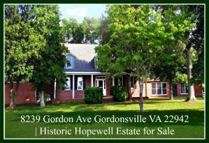 Horse Farm for Sale in Gordonsville VA