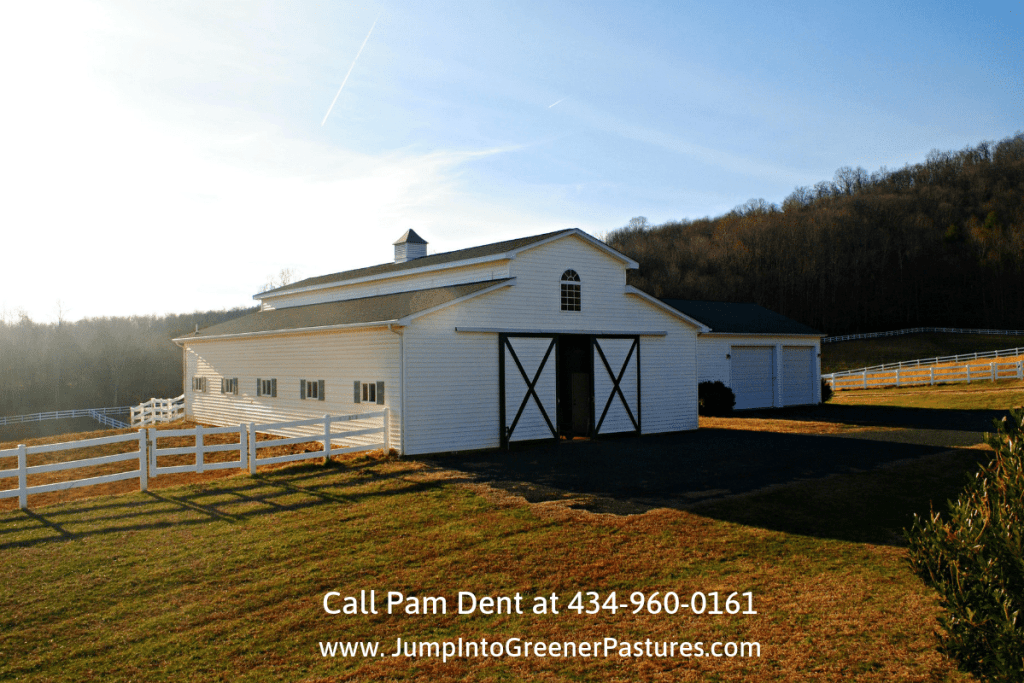 Equestrian Estates for Sale in Central Virginia - This Central Virginia equestrian estate offers a private oasis for you and your horses.