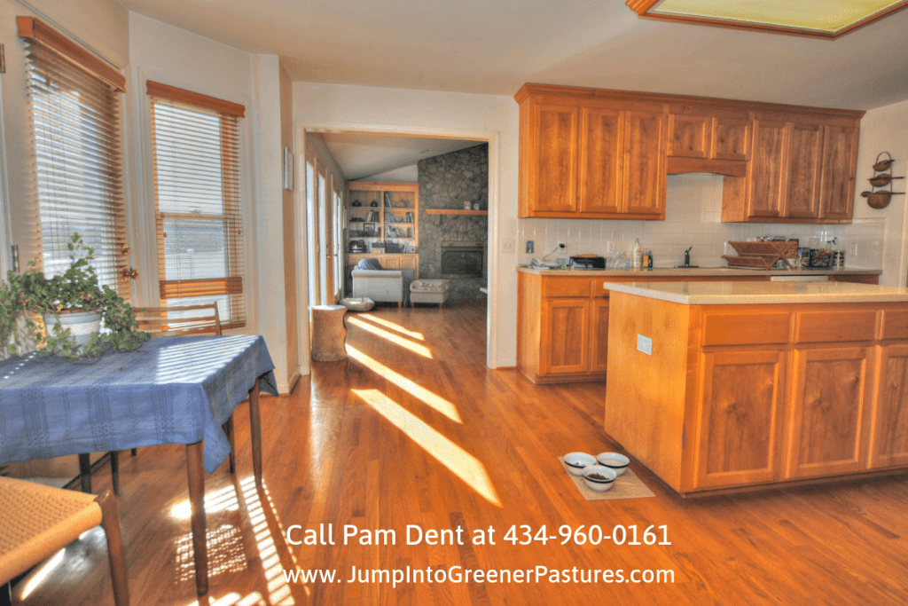 Central Virginia Real Estate Properties - Show off your inner chef in the impressive kitchen of this Central Virginia equestrian property for sale!