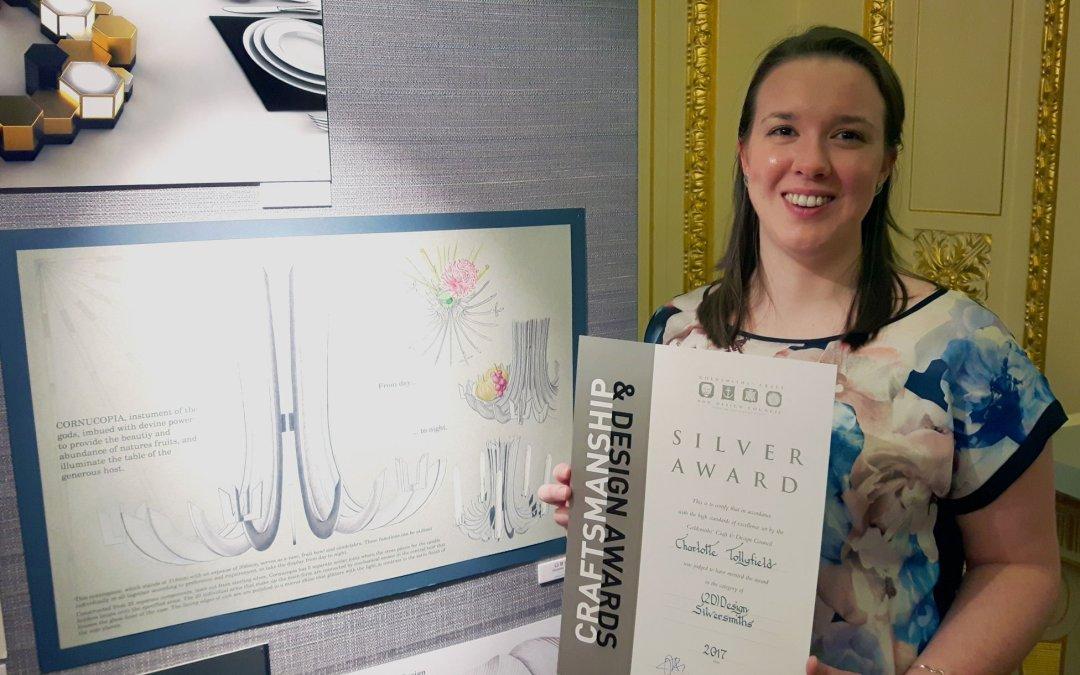 Charlotte Wins Silver at Craftsmanship & Design Awards 2017