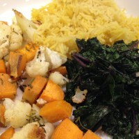 Get Well Sooner Tips + Garlicky Kale, Herbed Veggies, & Spiced Rice