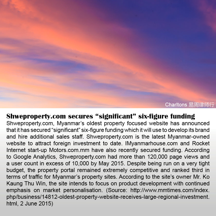 """Shweproperty.com secures """"significant"""" six-figure funding"""
