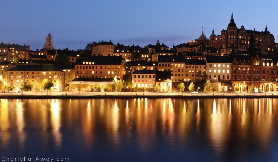 Stockholm nuit