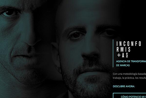Inconformistas by Josef Ajram e Isra García   Diseño web