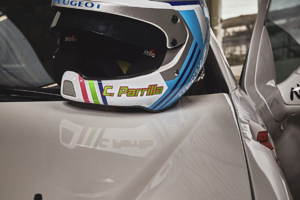 casco de rally personalizado