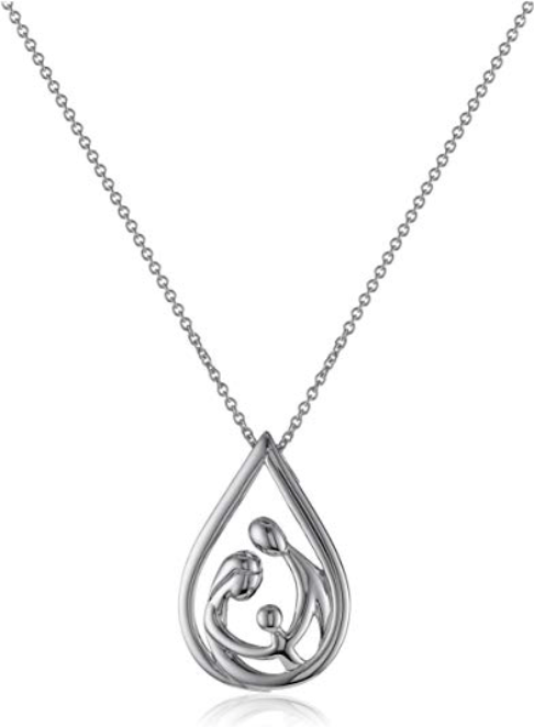 Sterling Silver Small Satin Number 18 on a Sterling Silver Cable Snake or Ball Chain Necklace