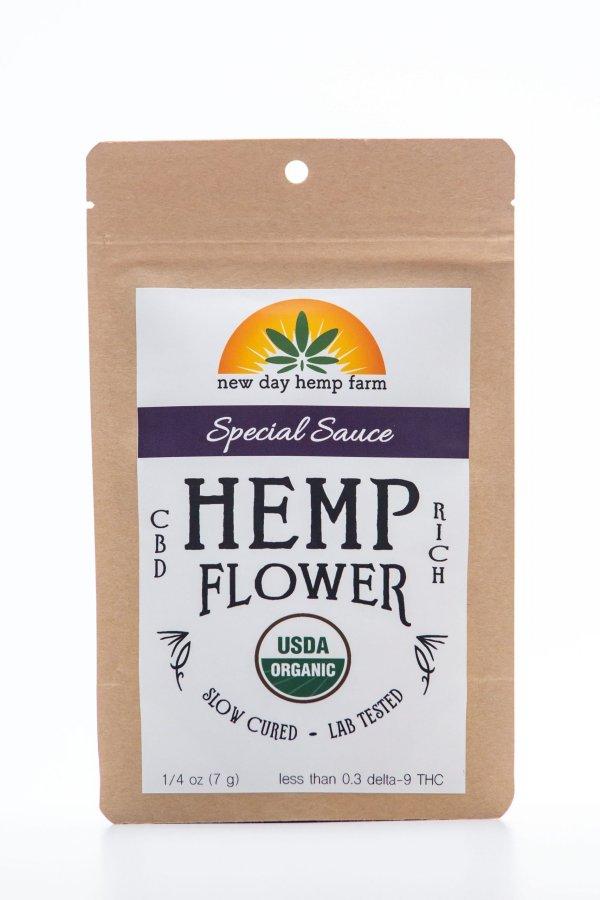 3.5 g New Day Hemp Farm Special Sauce CBD Flower