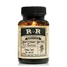 R and R Medicinals 30mg CBD Softgels