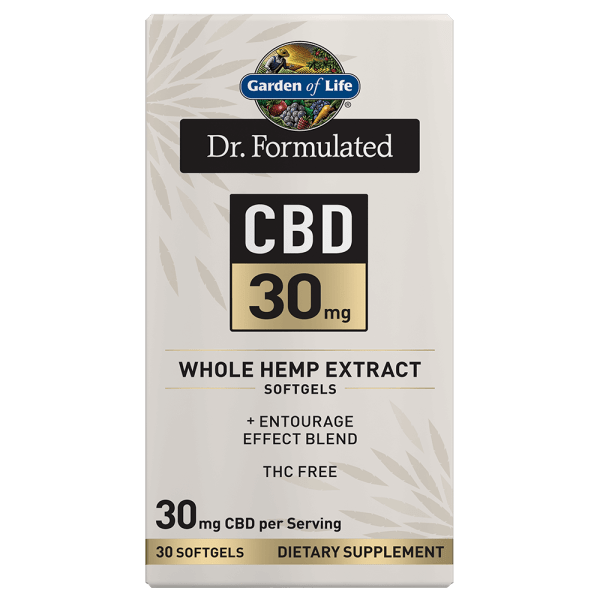Garden of Life CBD 30mg Softgels