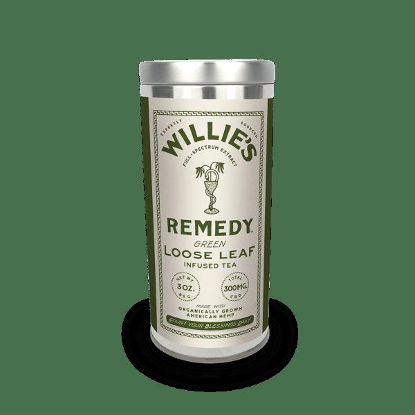 Willie's Remedy Green Tea 3oz Tin