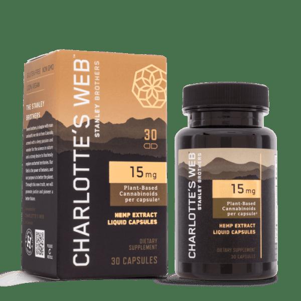 Charlotte's Wed CBD Capsules 15mg