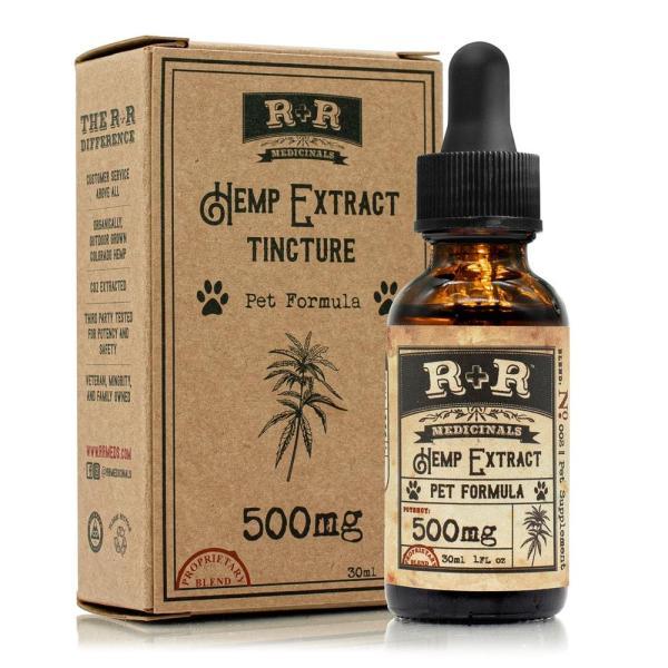 R and R Medicinals 500mg CBD Pet Formula