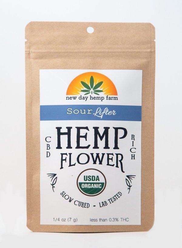 7 g New Day Hemp Farm Sour Lifter Artisan Hemp CBD Flower