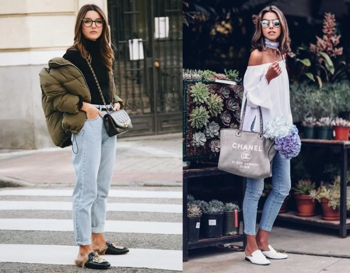 LOOKS COM SAPATO MULE USE E ABUSE