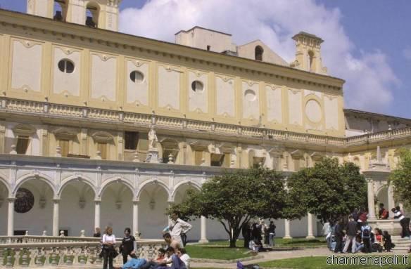 Chiostro della Certosa di San Martino