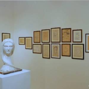 Sculture e quadri in mostra di Francesco Totino