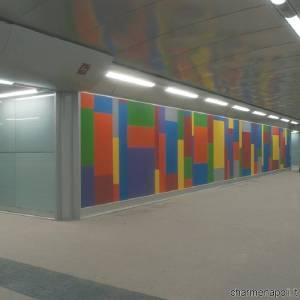 Stazione Materdei, opera di Sol Le Witt