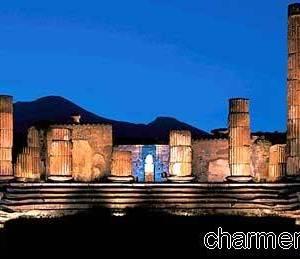 Pompei scavi di notte III
