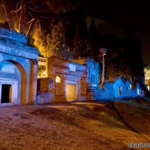 Pompei scavi di notte V
