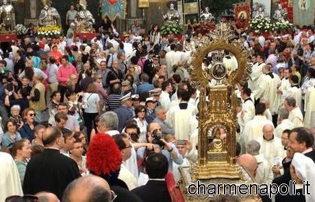 Miracolo di San Gennaro 4 maggio 2013