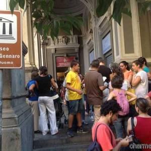 Museo_San_Gennaro_fila_turisti
