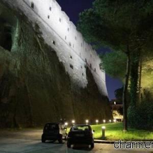 castel sant elmo notte esterno