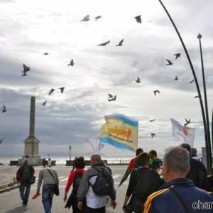 A Piazza della Vittoria a Napoli, immagini della passata edizione di Trekking urbano