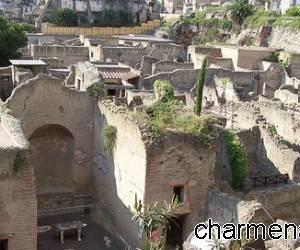 Ercolano, gli scavi romani