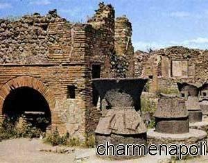 Molini e macine nell'antica Pompei